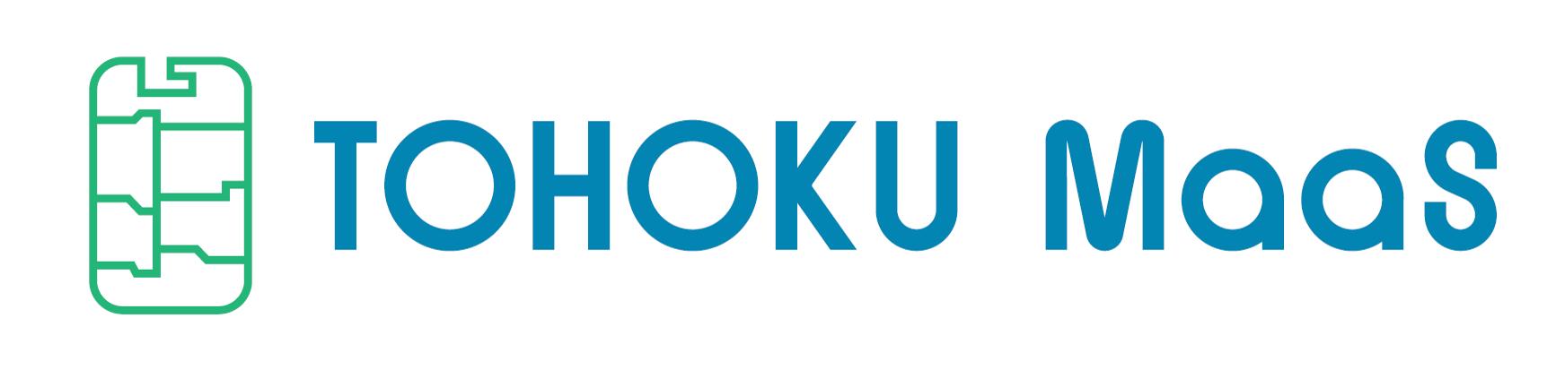 TOHOKU MaaSロゴ
